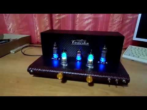 Handcrafted single ended nice lighting tube amplifier