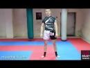 Обучение тайскому боксу - растяжка для хай кика, мышцы стабилизаторы для фронт к