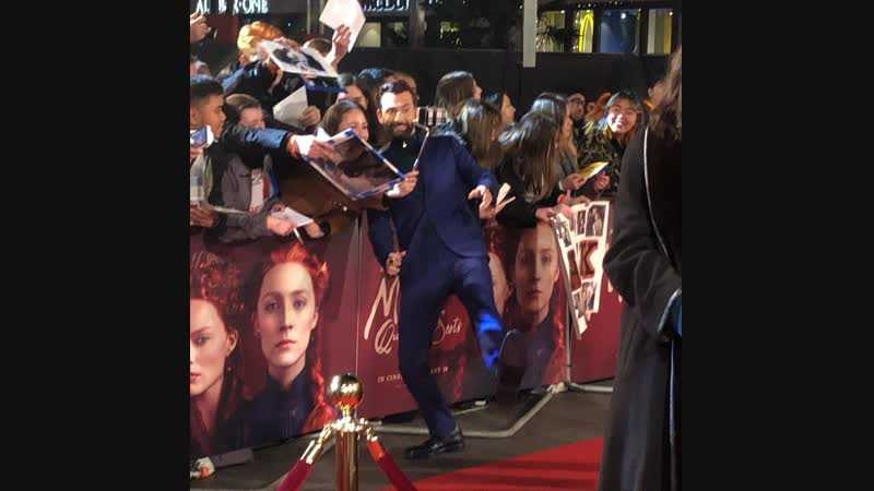 David Tennant Attends The Mary Queen Of Scots Premiere In London