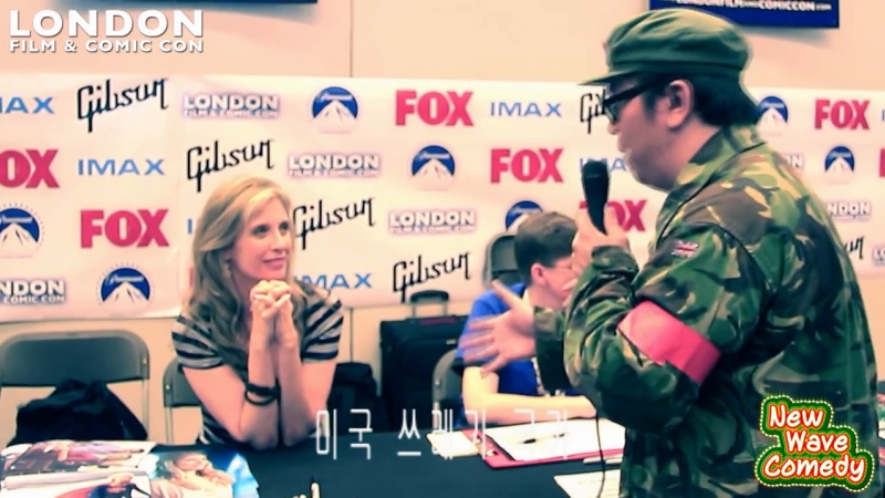 Helen Slater Funny AMWF Moments @ LFCC 2014 with Helen Slater PART 2