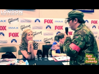 Helen Slater - Funny AMWF Moments @ LFCC 2014 with Helen Slater PART 2