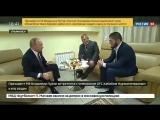 Путин про прыжок Хабиба после боя