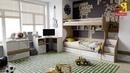 Модульная детская «Оксфорд». Дизайн детской комнаты