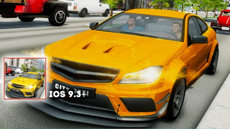 Exciting Taxi NY Cab - Gameplay iOS. Is the REAL TAXI DRIVING simulator