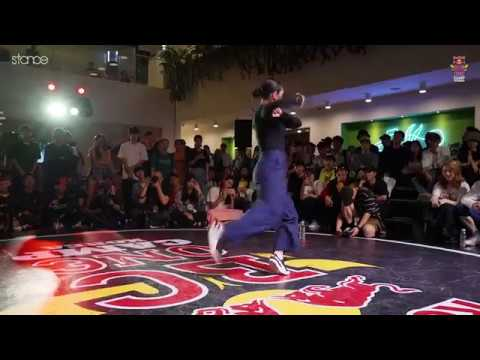 Woman 7 to smoke l Red Bull BC One Camp Korea .stance.