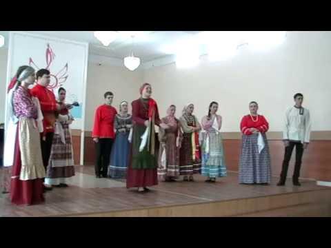 Отчётный концерт отделения Сольное и хоровое народное пение