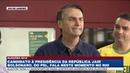 Jair Bolsonaro vota no Rio de Janeiro