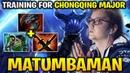 Matumbaman Is Spamming Razor to Train It for The Chongqing Major
