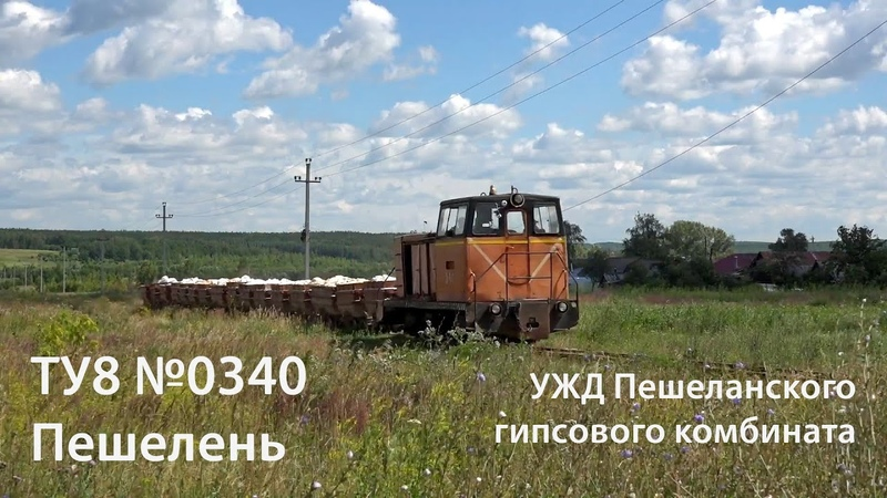 УЖД. ТУ8-0340 (Пешелань). Часть 2 Narrow gauge. TU8-0340. Part 2 (RUS, Peshelan)