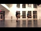 Pirouettes a la seconde - Derek Dunn, Jim Nowakowsky_Houston Ballet