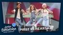 Angélina - Jamais Sans Toi - First Rehearsal - France - Junior Eurovision 2018 🇫🇷