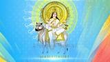 Navratri Special Day 8 | Jai Ambe Gauri - Ambe Mata Ki Aarti Bhajan | Color Sky Blue | Maa Mahagauri