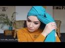 3 لفات حجاب صيفية جديدة 2017 turban tutoriel