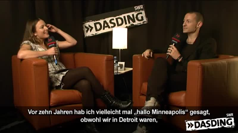 Chester von Linkin Park im DASDING-Interview Teil 1 ¦ DASDING