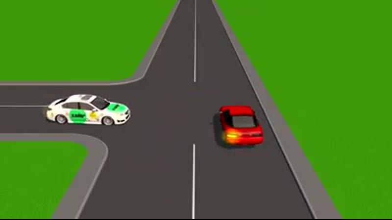 Многие водители очень часто путаются в ситуациях на нерегулируемых перекрестках равнозначных дорог.