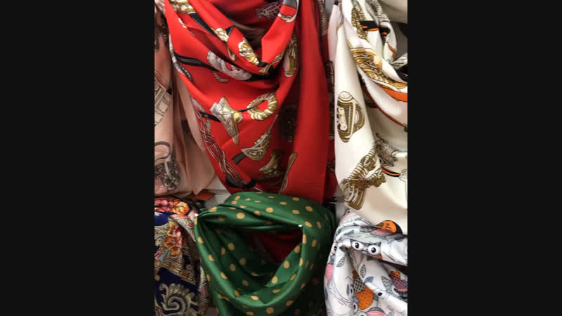 Платки, палантины, шарфы