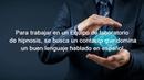 Busca un contacto con el idioma español Лаборатория Гипноза