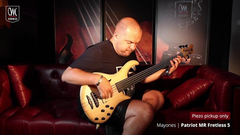 Anton Davidyants — Mayones Patriot MR Fretless 5 demo