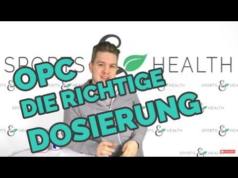 Die richtige Dosierung bei OPC