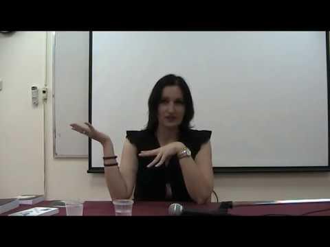 Ева Левит в Доме ученых Тель Авива