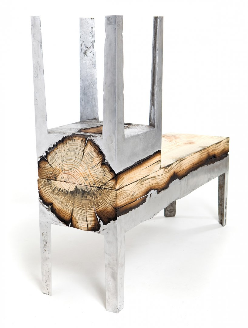 Раскаленный металл и дерево - рождение прекрасного