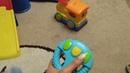 Купили пупсу игрушек (1,8 лет)