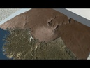 Massive Crater Discovered Under Greenland Ice