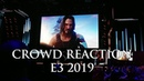 Crowd Reaction to Cyberpunk 2077 Release Date Trailer Keanu Reeves Xbox Briefing @ E3 2019