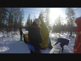 1 VloG_ Воттоваара. Лыжный поход в марте 2018