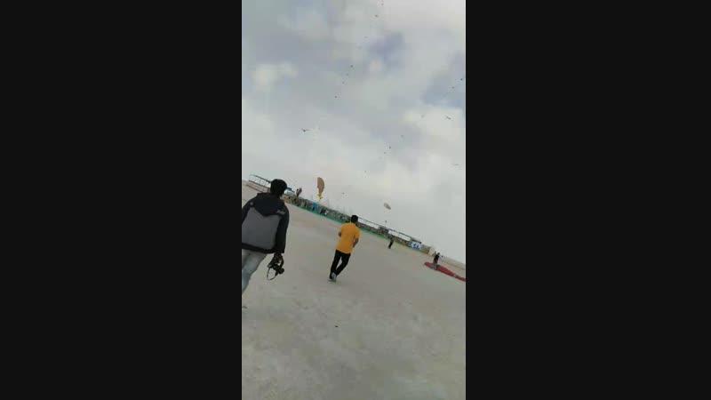 International kite festival white desert at Dordo Kutch gujarat