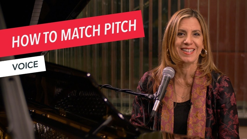 Voice Techniques: How to Match Pitch Singing Vocals Voice Berklee Online