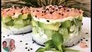 Салат СУШИ Рецепт для тех кто не умеет делать суши