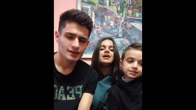 "ANAHIT (@anahitadamiann) on Instagram: ""Лейла- @leomalikov @adamianborya и Я🌞🎈🚀 @jahkhalib ❤️"""