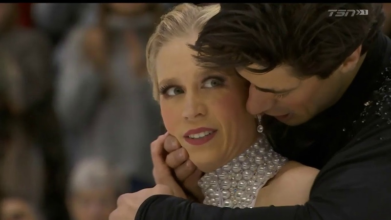 Kaitlyn Weaver Andrew Poje 2019 Canadian Tire National Skating Championships FD interview