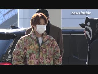 190116 EXO in Incheon Airport to Chile Santiago -