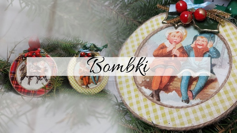 133 DECOUPAGE CHRISTMAS ORNAMENTS / CHRISTMAS BALLS / BOMBKA DECOUPAGE/ TUTORIAL / BOMBKI DIY