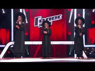Тюрютикова, абрамова иджалагония. «take me to church» - поединки - голос.дети - сезон 6