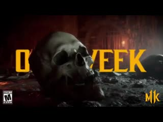Can you hear the bones breaking only one week till mk11.
