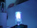 неожиданный цвет стартёра 4-65W 220-240V S10 Philips с лампой накаливания 15Вт