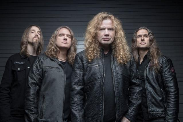 Megadeth входят в студию для подготовки к выпуску нового альбома