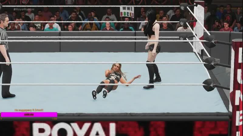 WWE-Kick Off-1on1-Carmella vs Paige-5 бой 3:1!