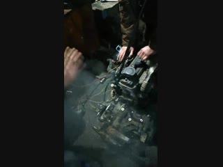 Двигатель завели на земле