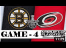 Boston Bruins vs Carolina Hurricanes _ Eastern Conference final _ Game 4 _ Stanl
