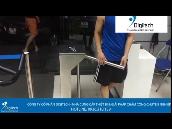 Digitech Media | Hệ thống kiểm soát cửa ra vào phòng gym