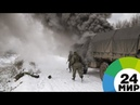 Сила артиллерии Ураган Торнадо и Смерч бушевали под Петербургом МИР 24