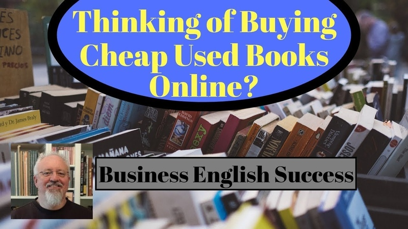 Cheap Used Textbooks Watch this video to find out why not Business English Success