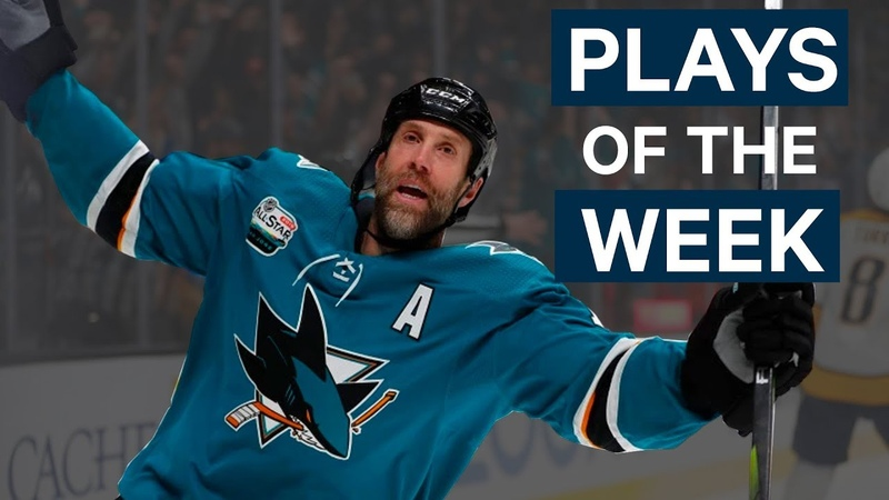 NHL Plays of The Week Week 6 Edition - Rinne Reaches Back, Thornton Gets 400 and More!