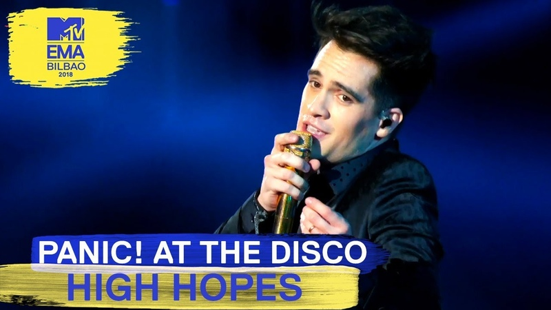 Panic! At The Disco - High Hopes Live | MTV EMAs 2018