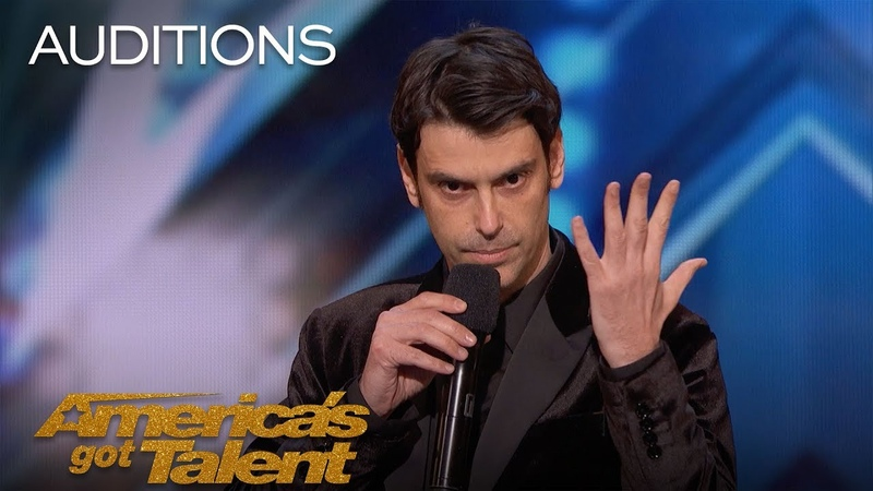 Lioz Shem Tov Mentalist Showcases His Telekinesis To America - Americas Got Talent 2018