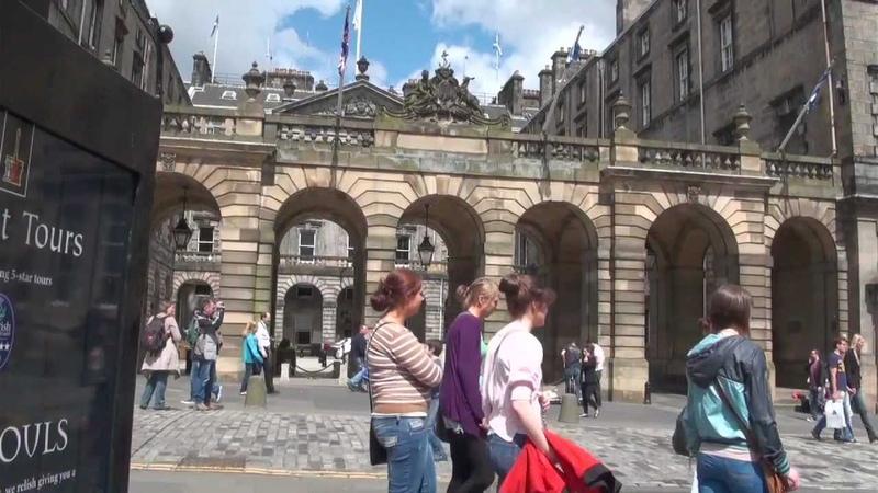 Student life in the city of Edinburgh